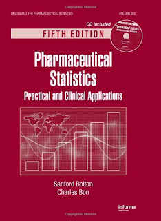Pharmaceutical Statistics: Practical and Clinical Applications - 5th Edition pdf free download