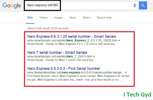 nero express 94fbr