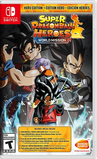 Super Dragon Ball Heroes World Mission NSP Switch