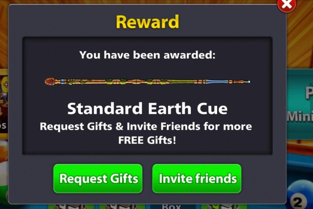 8 Ball Pool Free Earth Cue Reward New Link