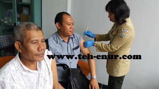 Tahap Penyuntikan Vaksin Meningitis