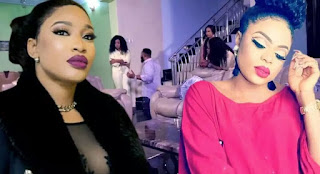 Tonto Dike In Trouble For Associating With Bobrisky