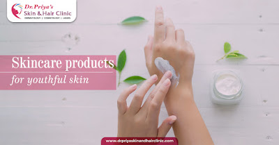 skin products for youthful skin