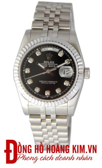 đồng hồ kim loại nam chính hãng
