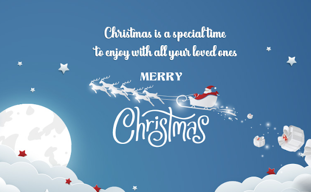 Count your blessings and make a wish under the Christmas tree. May you have a Merry Christmas