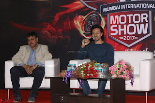 Tiger Shroff Launches Mumbai International Motor Show 2017 022.JPG
