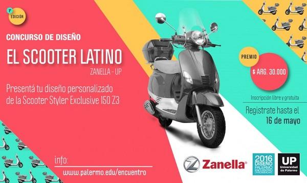 Concurso de Diseño de Zanella: El Scooter Latino