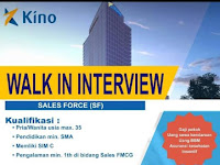 Lowongan Kerja Sales Force KINO Bandung
