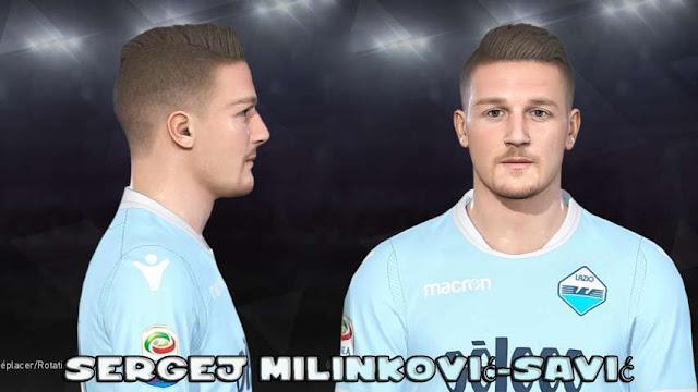 Sergej Milinkovic-Savic Face PES 2018