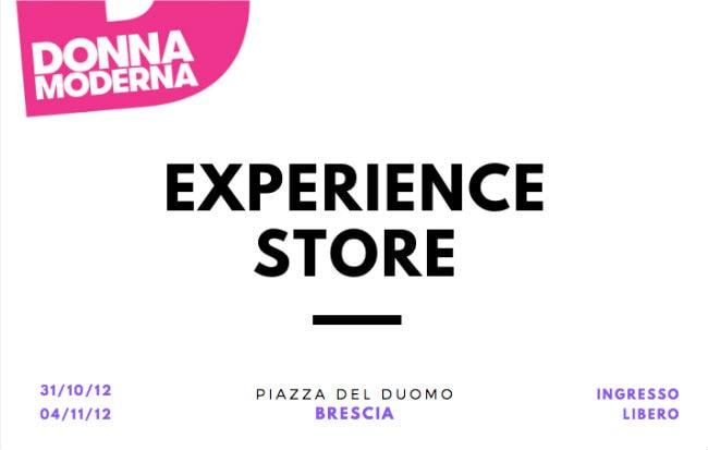 L'Experience Store di Donna Moderna a Brescia