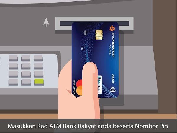 cara hubungkan Bank Rakyat ke tabung haji