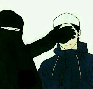 kartun anime muslimah