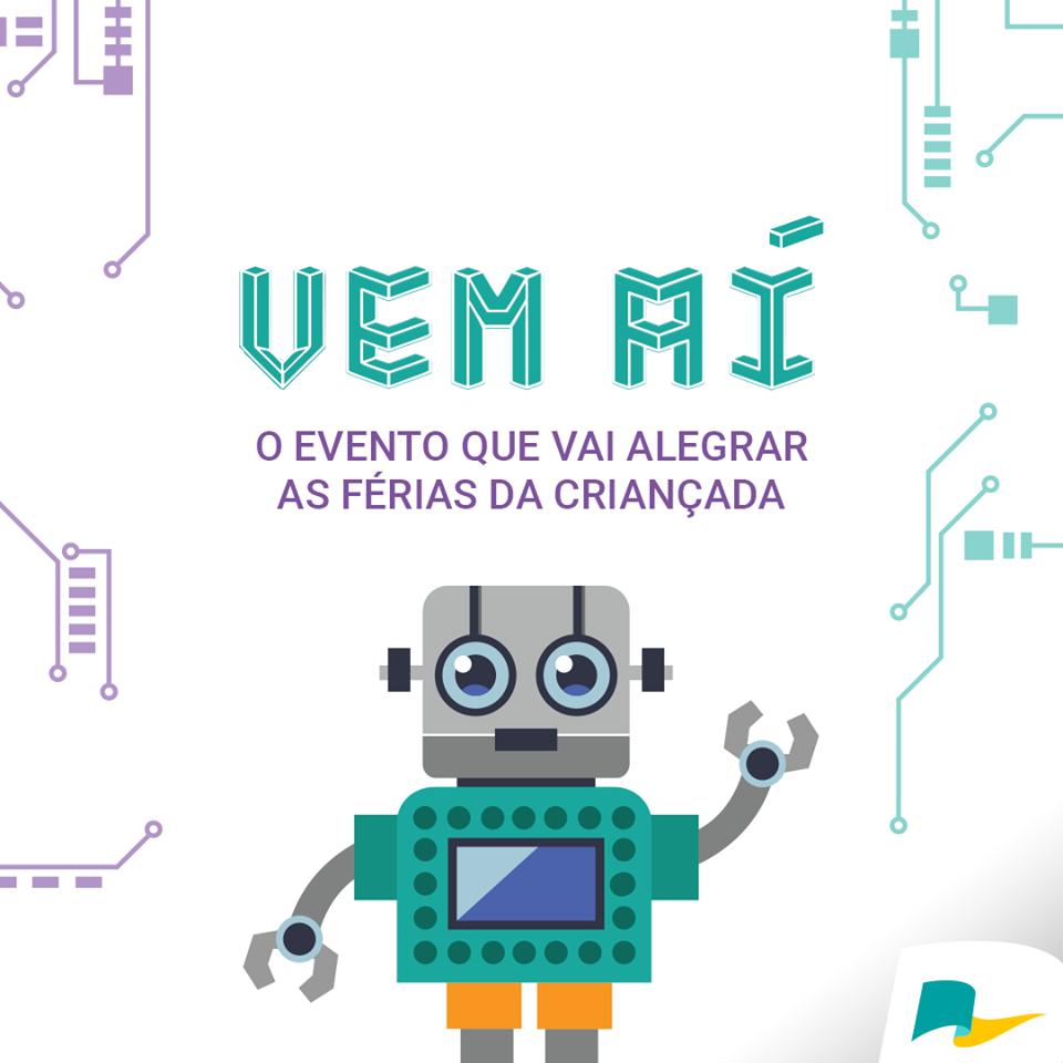 Atração de férias de janeiro do Conjunto Nacional vai trazer robótica, tecnologia e inovação