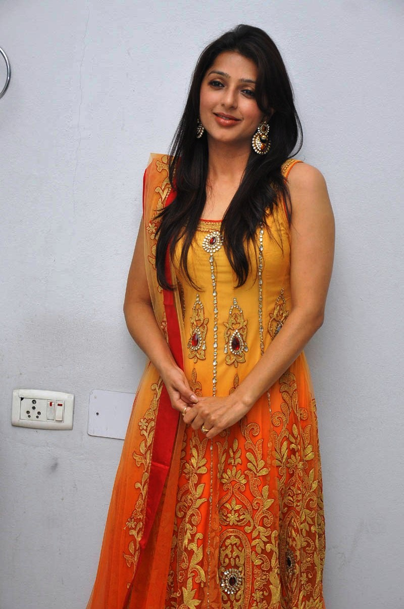 Gorgeous bhoomika from a new movie launch