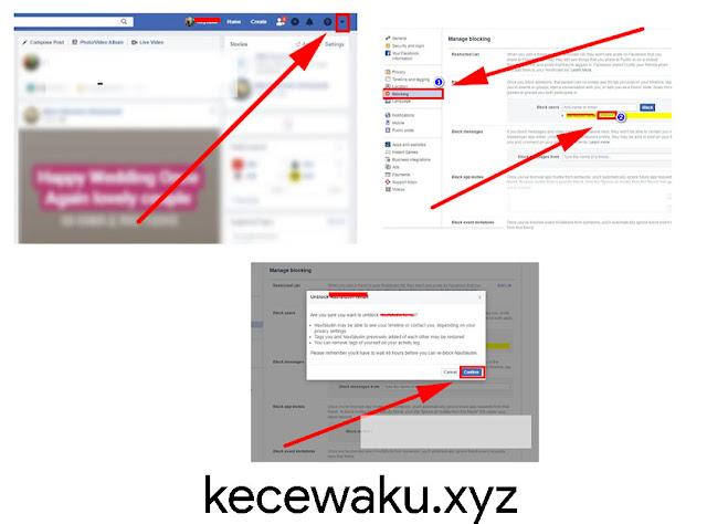 Cara Membuka Blokir Teman di Facebook Desktop