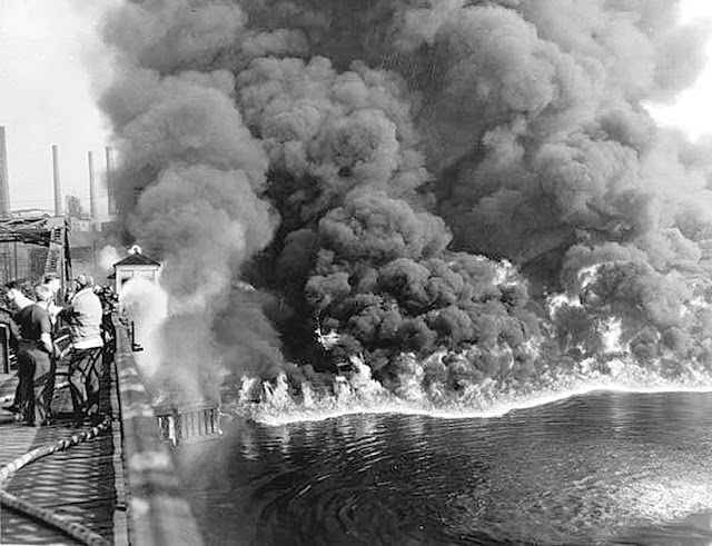 The Cuyahoga River fire