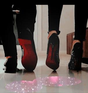 "<img src=""man and woman walking.png"" alt=""man and woman loubin shoes. long term relationship advice."">"
