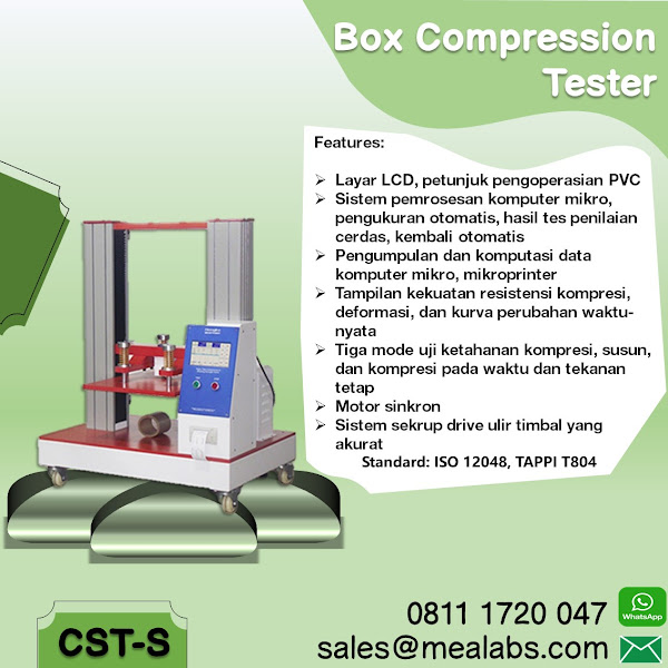 CST-S Box Compression Tester