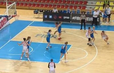 FIBA U18 Europe Women Turkey - Iceland