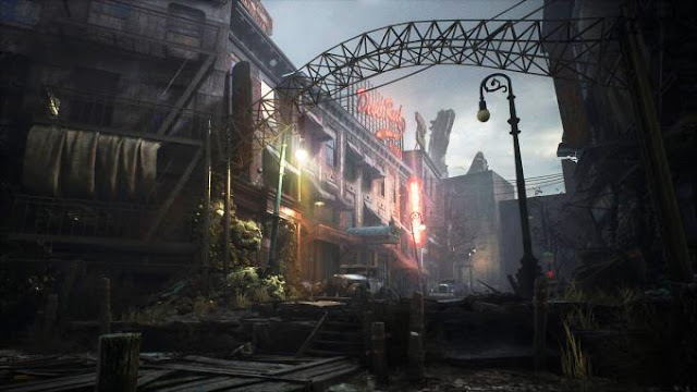 The game The Sinking City unfolds in America in the 1920s. A small town called Oakmont, in Massachusetts, was subject to a local cataclysm.
