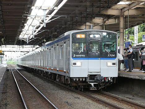 【11月に引退へ!】相鉄新7000系 通勤特急 横浜行き