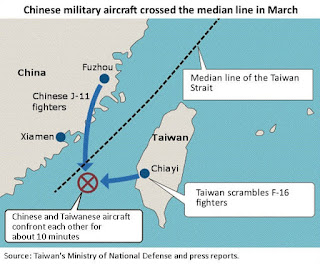 Taiwan Air Force 'Drove Out' Chinese Fighter Jets From Its Airspace, DM Says