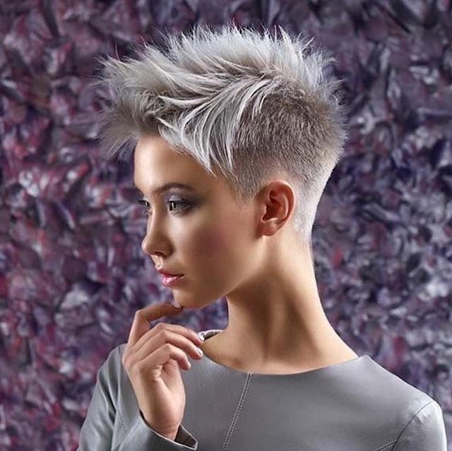 Pixie HairCut For Girls