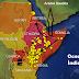 Milhões de Gafanhotos aparecem em montanha sagrada no Quênia