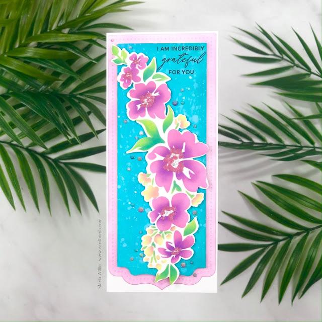 #cardbomb,#pinkfreshstudios,Pinkfresh Studios,#card,#cards,#greetingcards,#handmade,#watercolor,stamp,  stamping, ink, paper, paper craft, art, diy, die cutting, slim-line cards