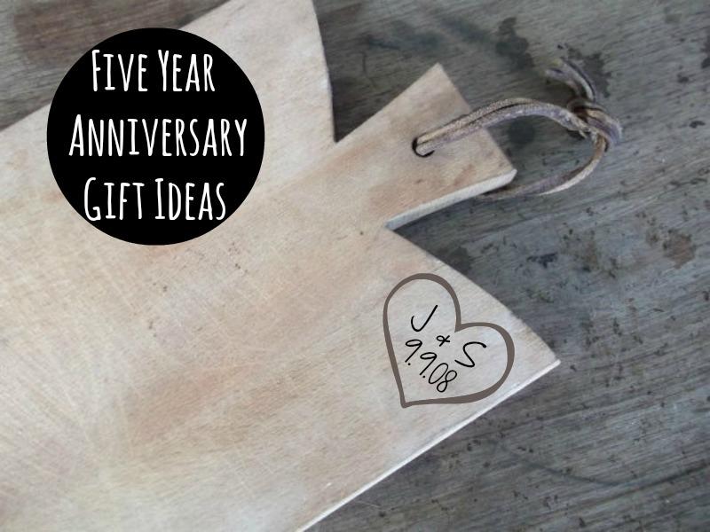 Polkadot Fluff: Five Year Anniversary Gift Ideas
