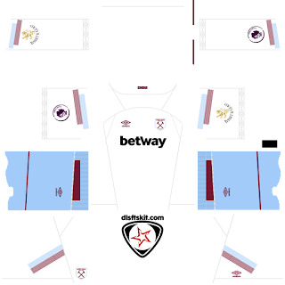 West Ham United FC 2018 - 2019 Third Kit
