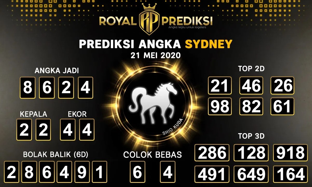 Prediksi Togel Sydney Kamis 21 Mei 2020 - Royal Prediksi