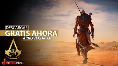 como descargar Assassin's Creed Origins gratis