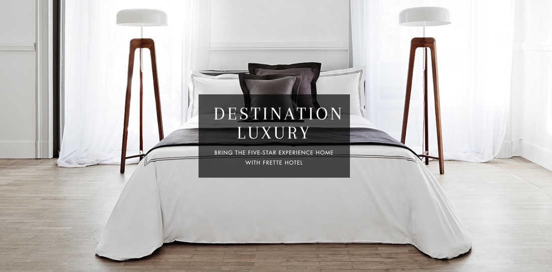 For Its Bed Linen, Frette Uses Five Major Factors To Determine The Quality.  These Are Count, Resistance, Load, Stretch, And Torsion.