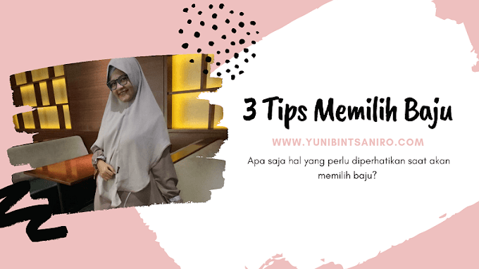 3 Tips Memilih Baju Ala Yuni