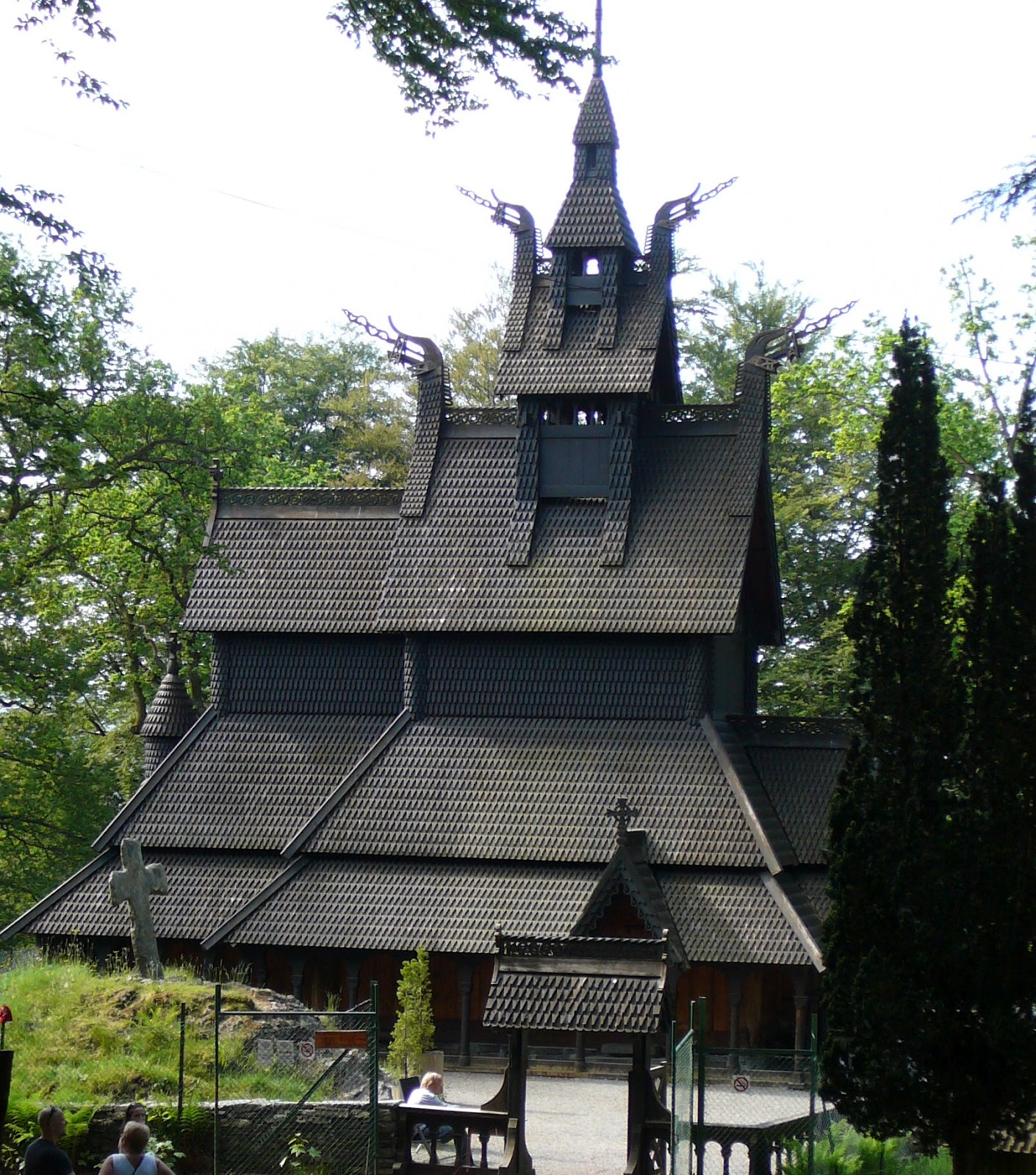 Wooden Churches in the North and East of Europe Norway