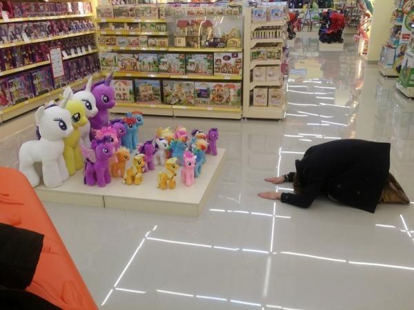 zoeira no supermercado