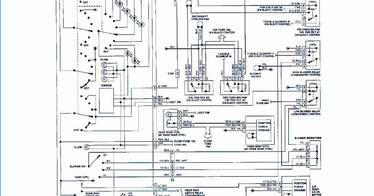 Circuit electrinic: 1992 Regal Buick Wiring Diagram