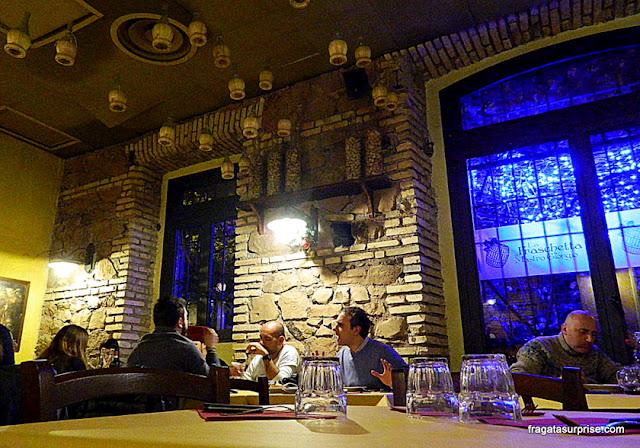 Restaurante La Fraschetta di Mastro Giorgio, Testaccio, Roma