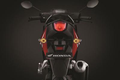 Lampu belakang baru New Honda Supra GTR150