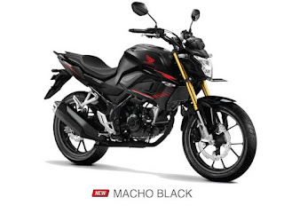 Verza CB150 Terbaru 2021 Macho Black