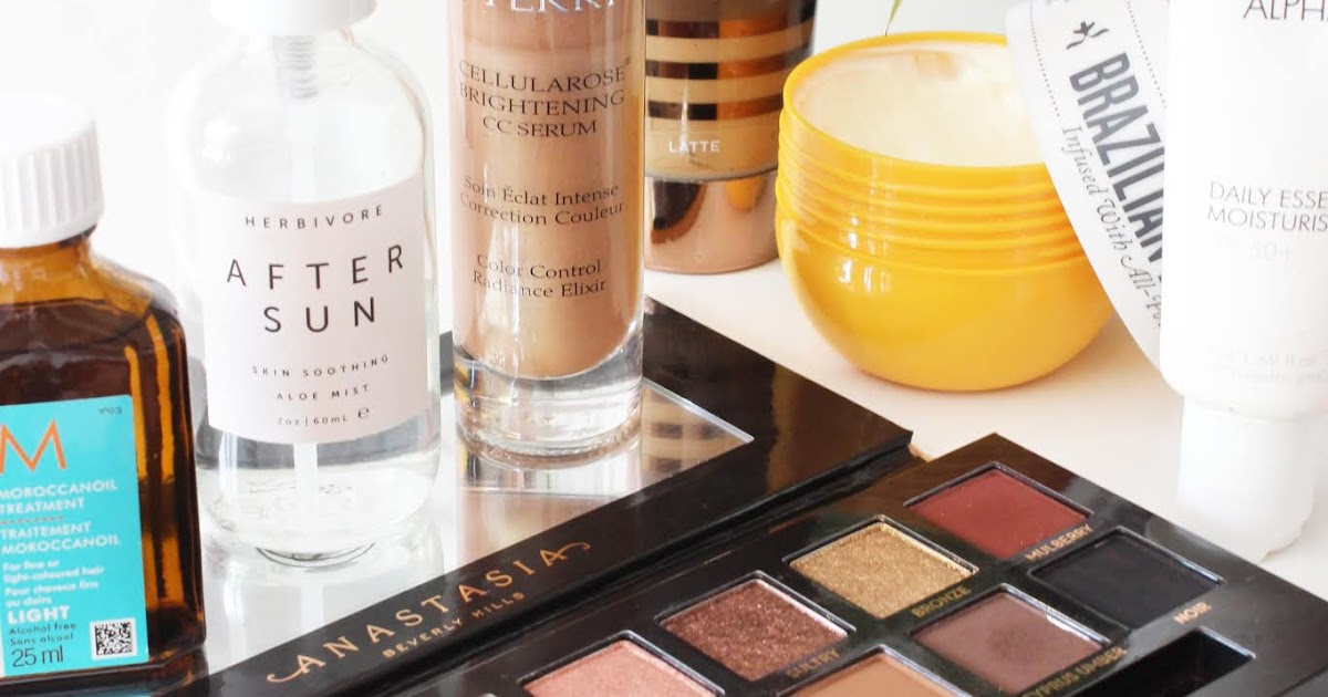 The Beauty Products To Pack For Your Holiday   BRITISH BEAUTY ADDICT