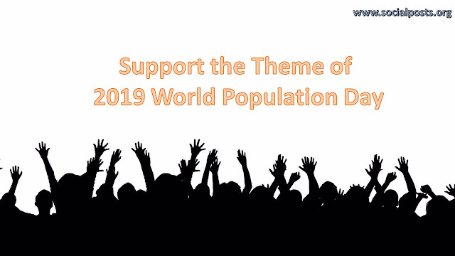 2019 World Population Day Theme