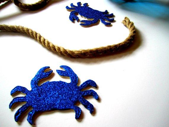 Glitter-crabs