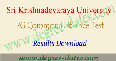 SKUCET results 2018 sku pgcet rank card download at manabadi
