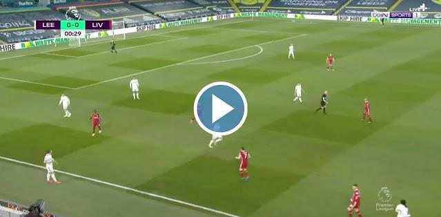 Leeds United vs Liverpool Live Score
