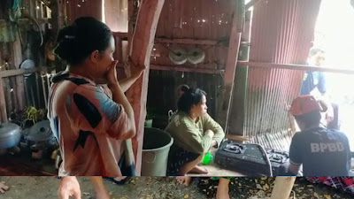 Sedang Memasak Ayam Tiba-tiba Selang Gas Bocor, Sebuah Rumah di Lapadde Nyaris Terbakar Api