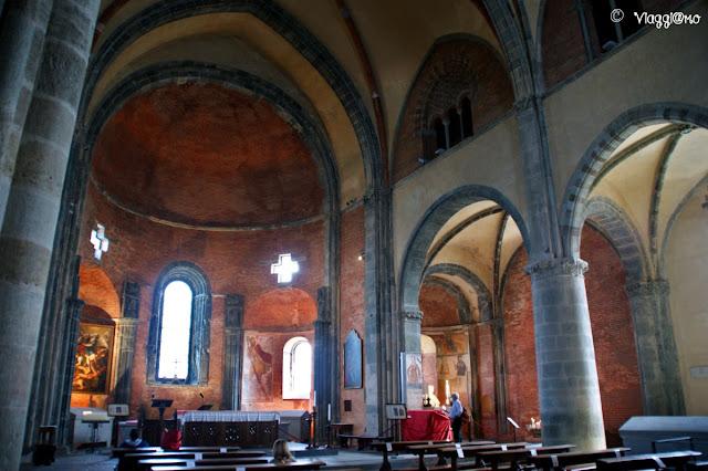 Gli interni della Sacra di San Michele