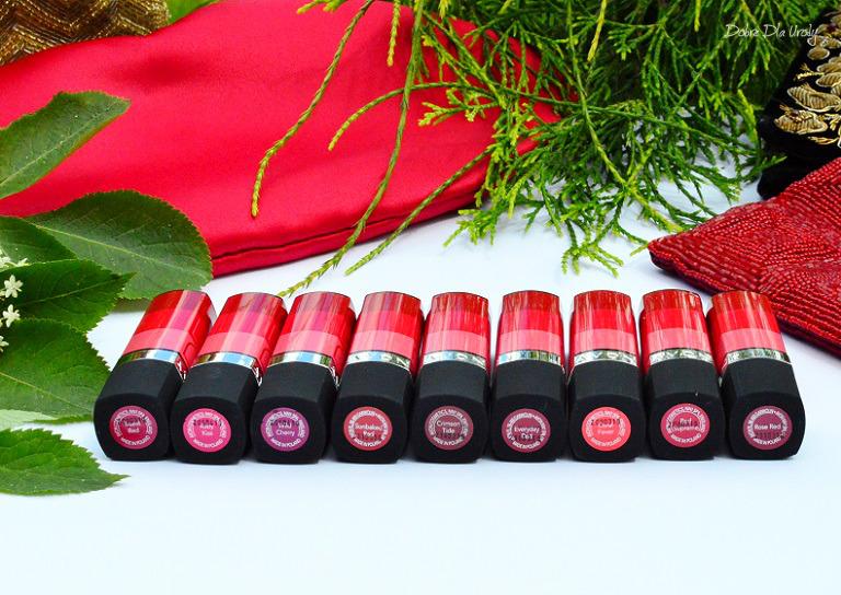 Matowa czerwień Avon True Color - matowe szminki recenzja