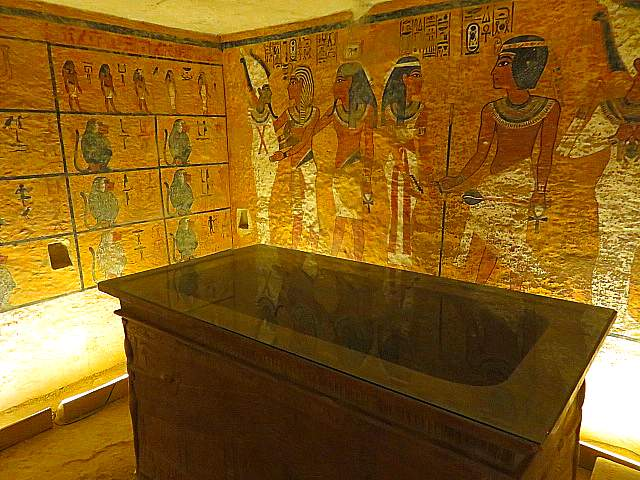 Howard Carter House Tomb of Tutankhamun